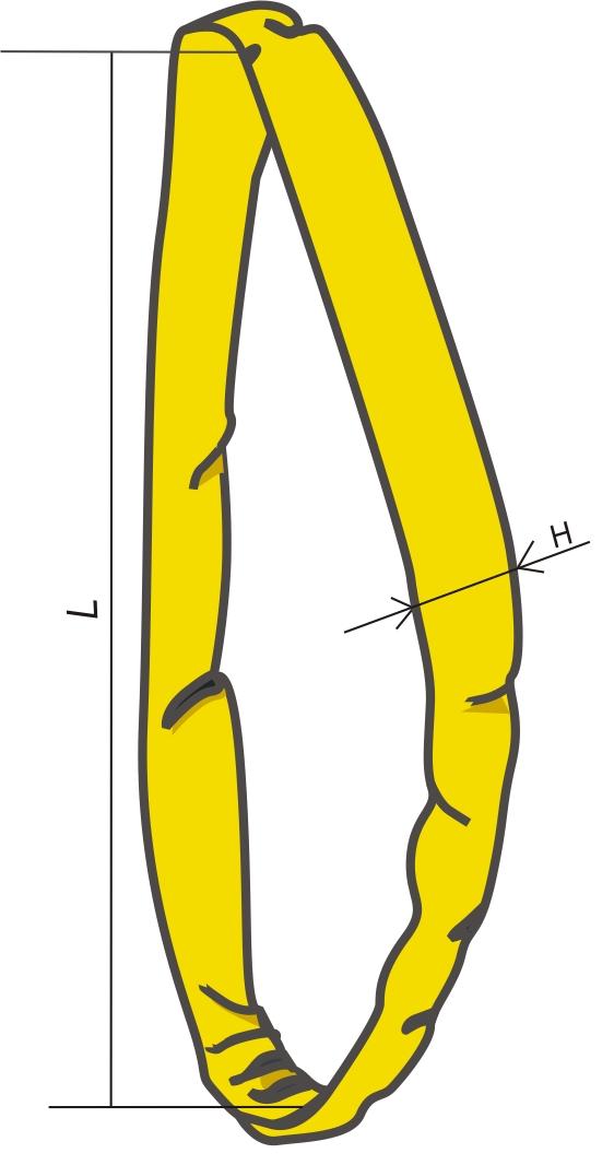 Кольцевой круглопрядный строп