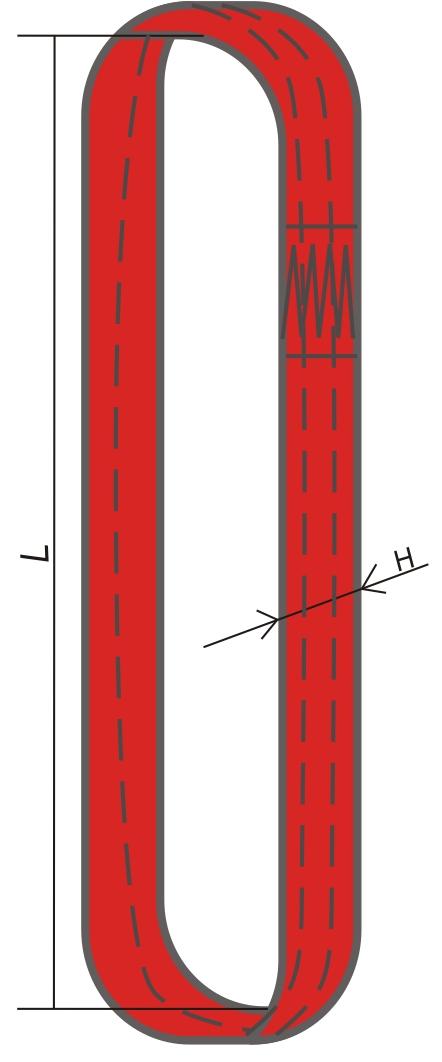 Текстильный кольцевой строп